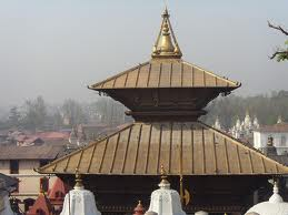Ornamented Pagoda Of Pashupatinath Temple